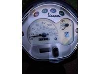 Spares and repairs vespa LX125