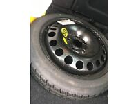 """Spare """"doughnut"""" tyre from 05 Vectra NEW"""