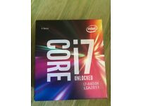 Intel Core i7 6850K - 3.6GHz - 4.0 GHz Turbo 6 Core 12 Threads 40 Lanes Socket 2011-v3 Processor