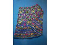 Ladies Cotton Skirt Size Large IP1