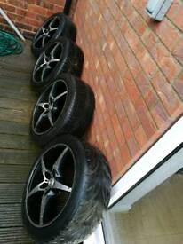 5x112 MAK Alloy wheels