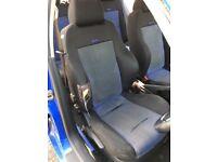 VW mk4 golf Recaro seats £100 ono