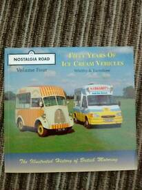 Book of ice cream vans