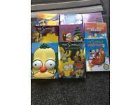 9 Simpson dvds