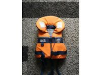 Selection of life jackets