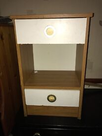 Bedside Table In Good Condition