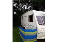 1998 Avondale 5 berth Touring caracan for sale