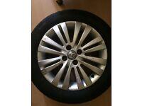 "Vauxhall alloy wheel 16"" (single)"