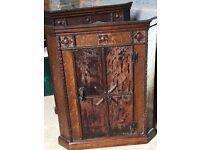 Vintage corner cabinet - 2 available