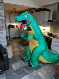 Adult dinosaurs outfit