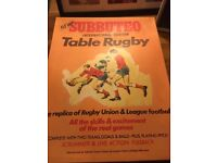 Subbuteo international table rugby
