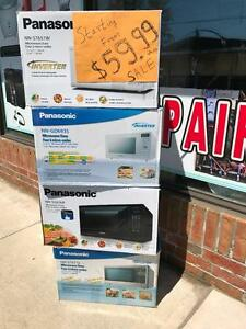 Panasonic 1.2 Cu. Ft. Counter top Microwave - White - $ 60.00