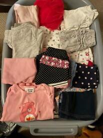 Baby girl bundle plus baby accessories