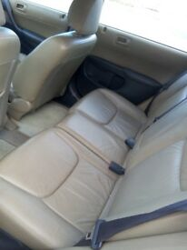 Honda CIVIC SE, 2001, 1.6 Petrol Automatic. 5drs. MOT. Leather.Parking sensor. CD radio