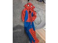 Spider man onesie age 4-5