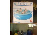8ft fast set pool,