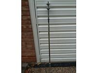 5FT SOLID CHROME WEIGHTS BARBELL * * BRAND NEW * *