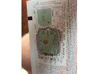 2 tickets for Lords Saturday England v South Africa