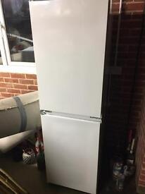 Zanussi fridge freezer- half & half split