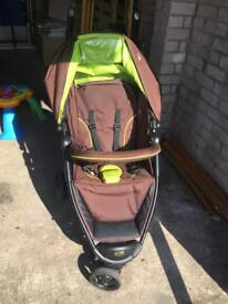 I-Safe pushchair