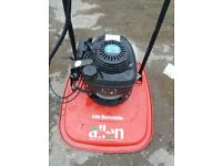 Petrol hover mower Honda 4stroke engine in first class condition.