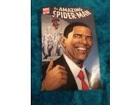 Barack Obama Amazing Spider-man #583 5th Printing Lincoln Memorial Variant Cover