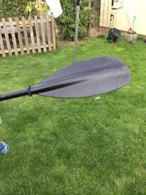 Pyranha kayak and ruk sports paddle for sale