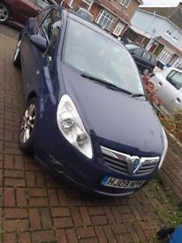 Vauxhall corsa for sale. Low mileage