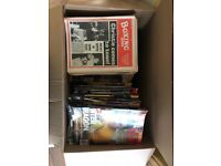 Boxing news magazines collecters items from 1976 to present