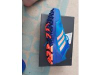 Mens Adidas Adipower 3 Blue & Orange size 11 trainers