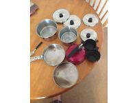 vango camping pots used
