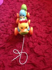 Duck musical toy