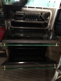 NEFF DOUBLE OVEN AND HOB