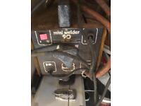 Stick arc welder needs sticks