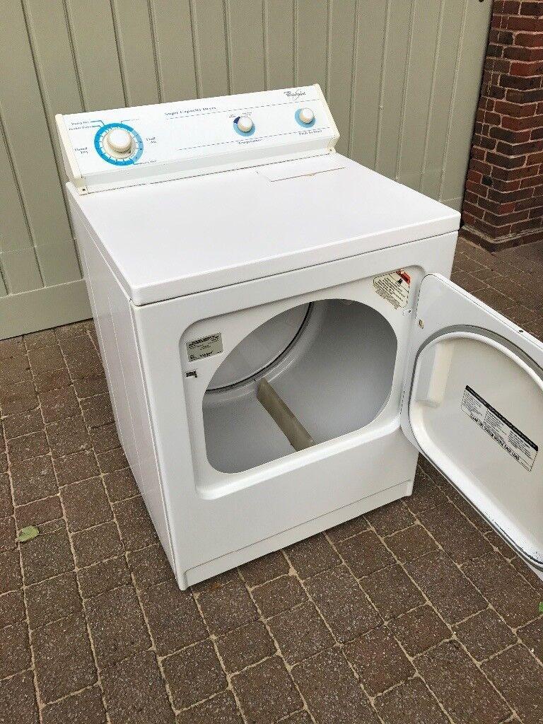 Whirlpool Super Capacity Dryer