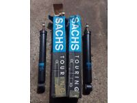 BMW E30 3-Series - Pair, Genuine Brand New Sachs Rear Dampers Shock Absorbers