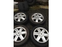 "Renault Megane Alloy Wheels 16"" With tyres"
