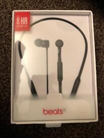 Beats x witless Bluetooth headset black new