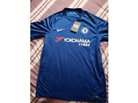 Chelsea home football shirt 2017-18, new with tags