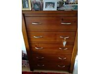 Bedroom solid wood drawers
