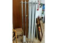 Towel rail radiator designer chrome L150cm W50cm new