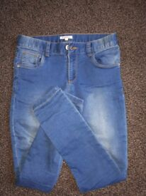 girls jeans slim fit 11Y from debenhams