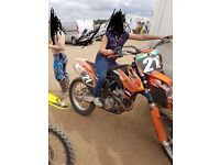 Ktm250sfx 2014 with extras swap for your 2 stroke or quad
