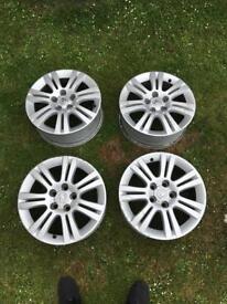 """Vauxhall zafira Astra vectra alloys 16"""""""