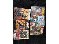 MARVEL/DC comic book bundle! (6 collectibles)