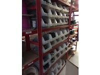 JOB LOT Shelving Storage Racks Heavy Duty Steel Warehouse Shelves Garage Racking