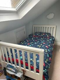 Feather and Black Oxford bunk bed