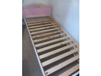 single bed and bedroom furniture