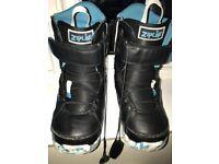 Burton Zipline Snowboard Boots UK 6 / EU 40