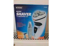 Vivac electric shaver & gromming kit